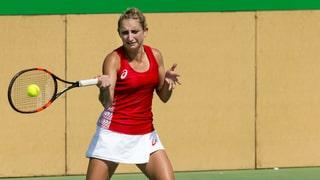Tennis: Out per Timea Bacsinszky – malgrà ballas da matsch
