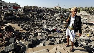 Saudis fliegen neue Angriffe gegen Basen im Jemen