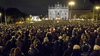 Letzter Schlagabtausch vor der Wahl in Italien