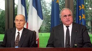 Merkel-Hollande vs. Kohl-Mitterand