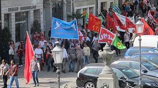 1.-Mai-Feiern: Gewerkschaften kritisieren Gier