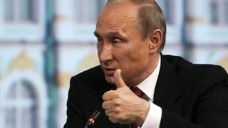 Putin will Wahl der Ukrainer respektieren