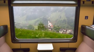 Werden Zugreisende nie wieder die Kirche von Wassen sehen?
