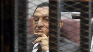 Drei Jahre Haft für Ägyptens Ex-Präsident Mubarak