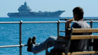 Russische Kriegsschiffe nehmen Kurs auf die Krim