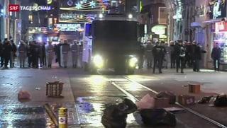 Polizei treibt in Istanbul Regierungsgegner auseinander