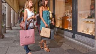 Tessiner wollen länger shoppen