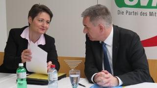 Abfuhr von der FDP: SVP im Aargauer Regierungs-Wahlkampf allein