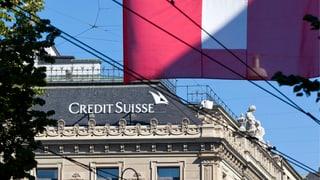 CS streicht 1600 Stellen in der Schweiz