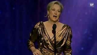 Die grossen Oscar-Gewinner 2012: Meryl Streep und Jean Dujardin