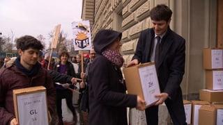 Linksgrüne Allianz bringt Referendum zustande