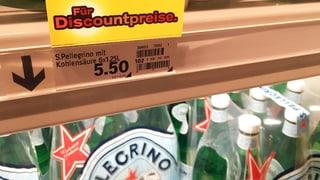 San Pellegrino: Kleinere Flasche, grösserer Preis