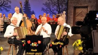 Video ««Chugelrundi Ländlermusig» aus dem Muotathal: Sebi Heinzer» abspielen
