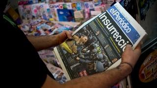 Rajoy und Puigdemont kommen schlecht weg