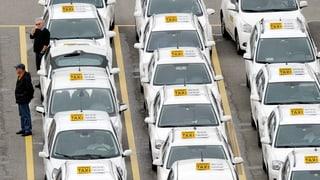 Ausländische Taxis dürfen keine Fahrgäste mehr aufnehmen