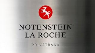 Notenstein La Roche stritga 20% da sias plazzas