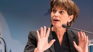 Doris Leuthard als Verwaltungsrätin bei Coop nominiert