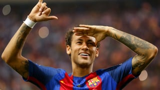 Neymar ha schlià il contract cun Barcelona
