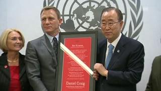 «James Bond» kämpft gegen Landminen