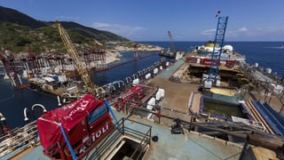«Costa Concordia» schwimmt