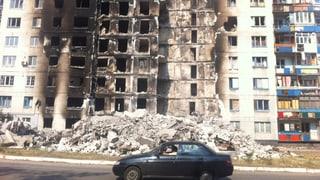 Kämpfe in der Ukraine werden heftiger