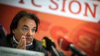 Constantin legte seinen Standpunkt am Freitagnachmittag vor den Medien dar: «Ich regelte die Sache, wie es Kinder tun», sagte er.