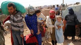 Flugzeuge bringen Hilfsgüter für Flüchtlinge in der Türkei