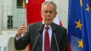 Alexander Van der Bellen ist neuer Bundespräsident Österreichs