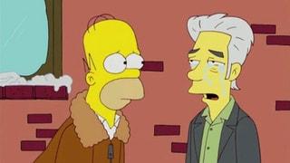 Mysteriöser Gastauftritt: Thomas Pynchon ist bei den Simpsons zu Besuch