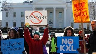 Obama blockiert Bau von Keystone-Pipeline