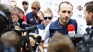 Besonderes Training für Kubica in Barcelona