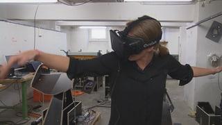 Video «Weltraumtechnologie, Vogelflugsimulator, fliegender Kameramann» abspielen