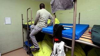 Warum Asylbewerber auch in Zivilschutzanlagen schlafen können