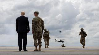 Trump will mit Verteidigungsetat Geschichte schreiben