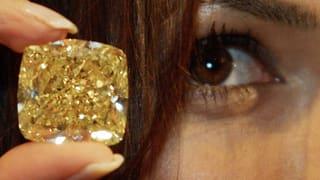 Gelber Diamant in Genf für 14,5 Millionen Franken versteigert