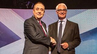 Hitzige Debatte um historischen Schritt in Schottland