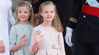 Prinzessinnen Leonor & Sofia: Die süssen Geheimwaffen von Felipe
