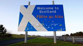 Tag der Entscheidung in Schottland