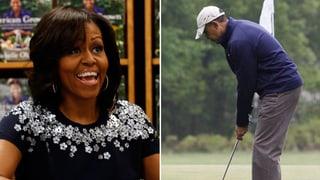 Alles im grünen Bereich bei Michelle und Barack Obama