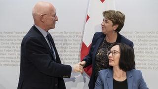 Bundesrätin Viola Amherd denkt über einen Kurswechsel nach