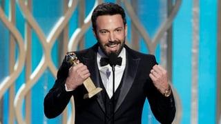 Golden Globes verliehen: Erfolge für Affleck und Waltz