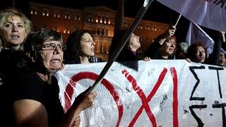 Griechische Regierung übersteht Kraftprobe