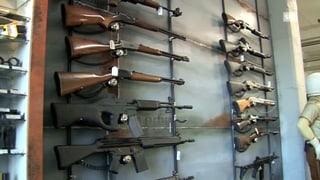Diskussion um Waffenzugang in der Schweiz