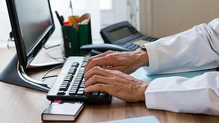 Die elektronische Arztkarte könnte zum Geschäft werden