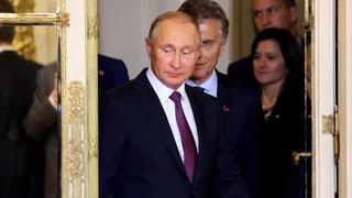 Putin schliesst Frieden derzeit aus