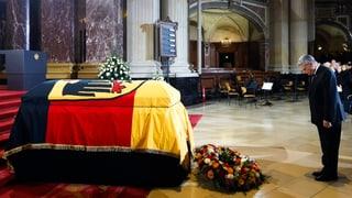 Deutschland nimmt Abschied von Richard von Weizsäcker