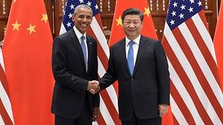 La China ed ils Stadis Unids – unids per il clima