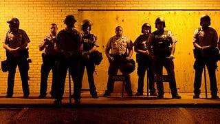 Kein Kriegsgerät mehr für US-Polizisten