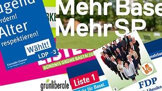Acht Basler Parteien im «Wahlzmorge»
