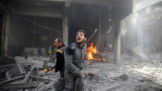 Dutzende zivile Opfer durch Luftangriffe